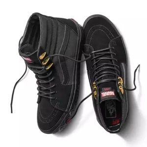 Vans x Marvel Black Panther SK8HI NEW Sneaker 10.5